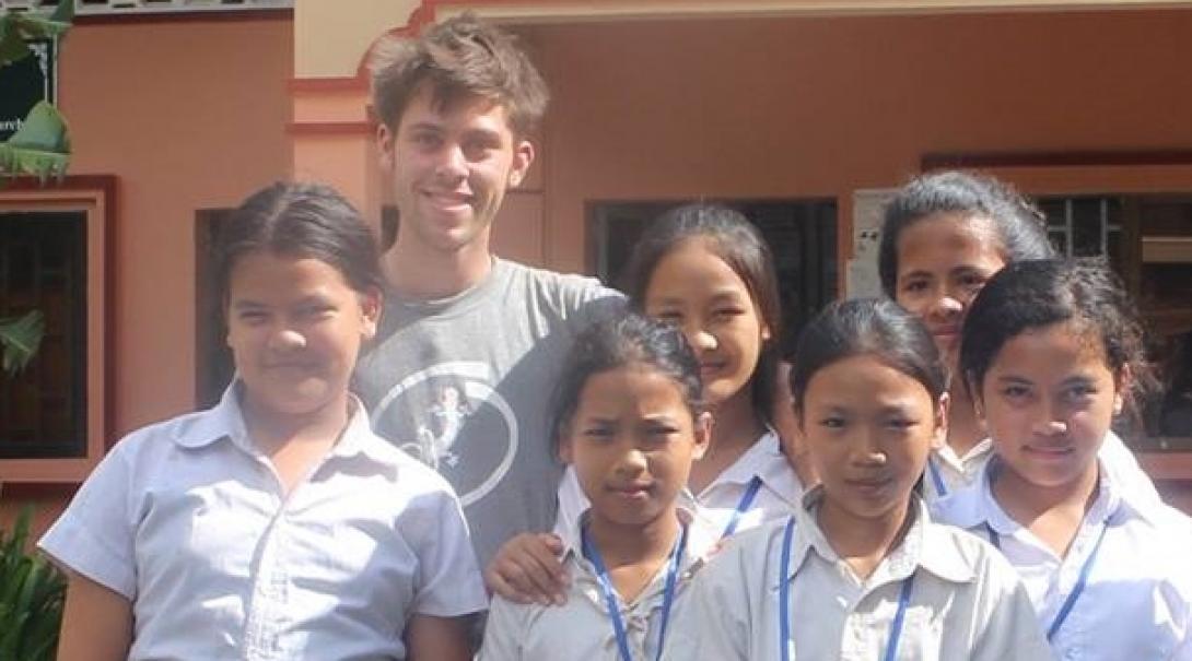 Edward H in Cambodia
